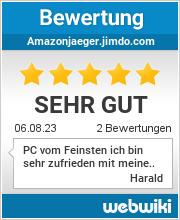 Bewertungen zu amazonjaeger.jimdo.com