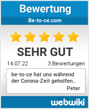 Bewertungen zu be-to-ce.com