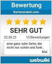 Bewertungen zu kartenorakel.com
