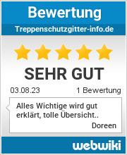 Bewertungen zu treppenschutzgitter-info.de