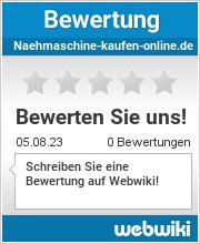 Bewertungen zu naehmaschine-kaufen-online.de