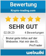 Bewertungen zu krypto-trading.com