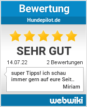 Bewertungen zu hundepilot.de