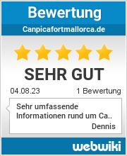 Bewertungen zu canpicafortmallorca.de