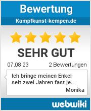 Bewertungen zu kampfkunst-kempen.de