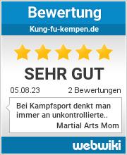 Bewertungen zu kung-fu-kempen.de