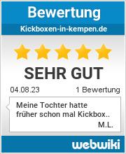Bewertungen zu kickboxen-in-kempen.de