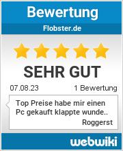 Bewertungen zu flobster.de