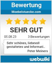 Bewertungen zu moebelstuecke.com