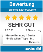Bewertungen zu teleskop-kaufen24.com