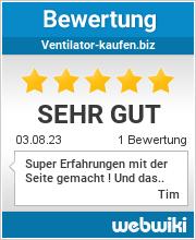 Bewertungen zu ventilator-kaufen.biz