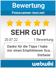Bewertungen zu fotoscanner-test.net