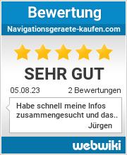 Bewertungen zu navigationsgeraete-kaufen.com