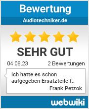 Bewertungen zu AudioTechniker.de