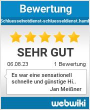 Bewertungen zu schluesselnotdienst-schluesseldienst.hamburg