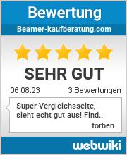 Bewertungen zu beamer-kaufberatung.com