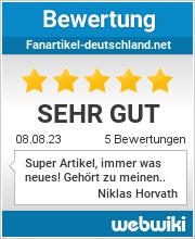 Bewertungen zu fanartikel-deutschland.net