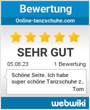 Bewertungen zu online-tanzschuhe.com