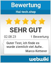 Bewertungen zu hai-tech.shop