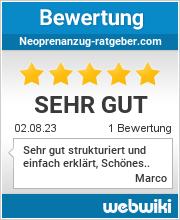Bewertungen zu neoprenanzug-ratgeber.com