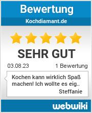 Bewertungen zu kochdiamant.de