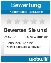 Bewertungen zu kochmesser-tests.com