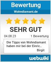 Bewertungen zu wohndiamant.de