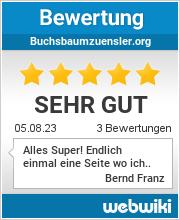 Bewertungen zu buchsbaumzuensler.org
