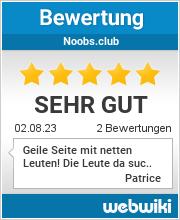 Bewertungen zu noobs.club