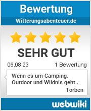 Bewertungen zu witterungsabenteuer.de