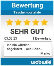 Bewertungen zu taschen-portal.de