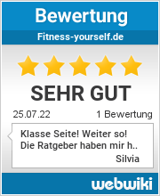 Bewertungen zu fitness-yourself.de