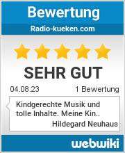 Bewertungen zu radio-kueken.com
