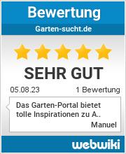 Bewertungen zu garten-sucht.de