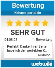 Bewertungen zu kohawo-portal.de