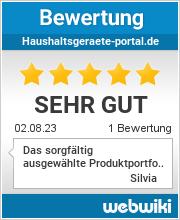 Bewertungen zu haushaltsgeraete-portal.de