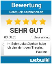 Bewertungen zu schmuck-stuebchen.de