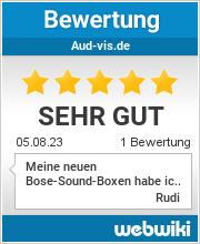 Bewertungen zu aud-vis.de