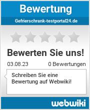 Bewertungen zu gefrierschrank-testportal24.de