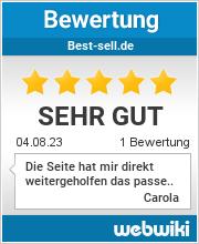 Bewertungen zu best-sell.de
