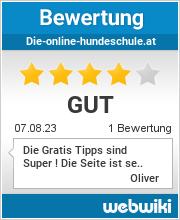 Bewertungen zu die-online-hundeschule.at