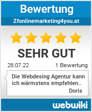 Bewertungen zu zfonlinemarketing4you.at