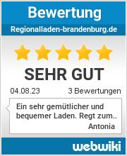 Bewertungen zu regionalladen-brandenburg.de