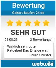 Bewertungen zu gokart-kaufen-24.de