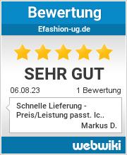 Bewertungen zu efashion-ug.de