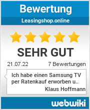 Bewertungen zu leasingshop.online