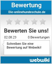 Bewertungen zu die-onlinehundeschule.de