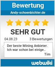 Bewertungen zu andy-schoenbichler.de