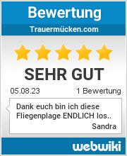 Bewertungen zu trauermücken.com