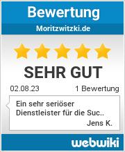Bewertungen zu moritzwitzki.de